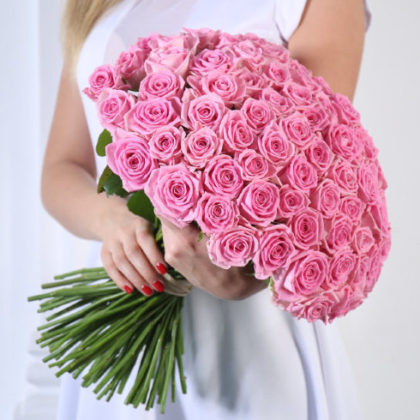 Букеты цветов Аква