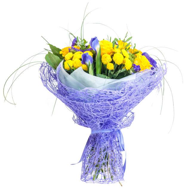 Букеты цветов Солнышко