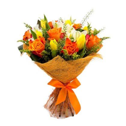 Букеты цветов Солнечное настроение