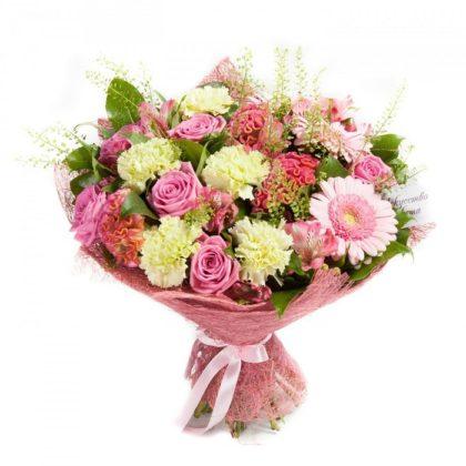 Букеты цветов Розовые облака