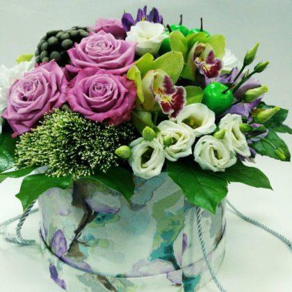 Цветочные коробки Заветное желание
