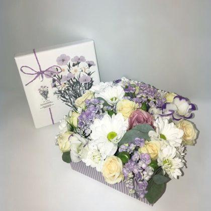 Цветочные коробки Вивьен