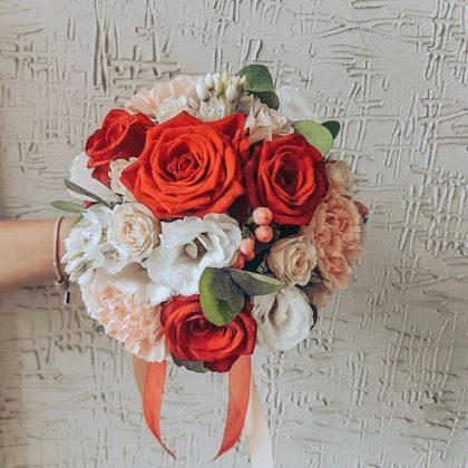 Свадебные букеты Скарлетт