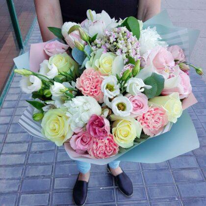 Букеты цветов Чудесный день