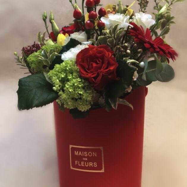 Цветочные коробки Признание