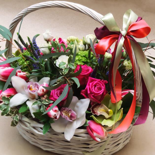 Цветочные композиции Весенний