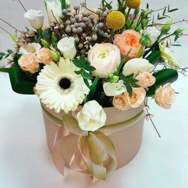 Цветочные коробки Грация