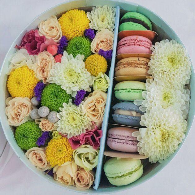 Цветочные коробки Светлые мечты