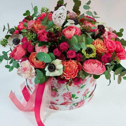 Цветочные коробки Вау